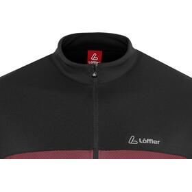 Löffler Flow Half-Zip Bike Shirt Men rot